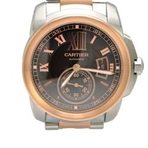Cartier Men's Calibre de Cartier 42mm Rose and Stainless St