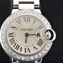 Cartier BALLON BLEU LADY SIZE  WHITE GOLD & DIAMONDS