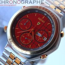Cartier FERRARI CHRONO F1 acier et OR by Cartier 1990