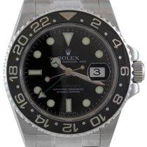 Rolex GMT-Master II Men's Steel Watch, Black Ceramic...