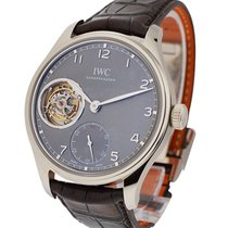 IWC Portuguese Hand Wound Tourbillion White Gold