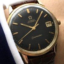 Omega Serviced Omega Seamaster Automatik Automatic black dial...