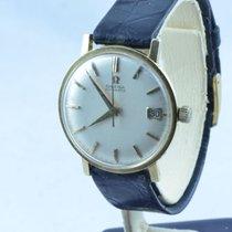 Omega Herren Uhr Automatik 34mm 18k 750 Massiv Gold Vintage...