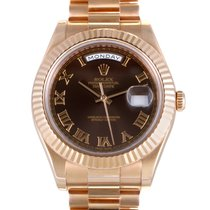 Rolex Oyster Perpetual Day-Date II Men's Automatic Watch...