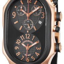 Philip Stein SOLID Gold Dual Time Zone 5rg-b-crb-nrb