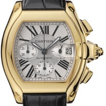 Cartier 2618 Roadster Chronograph 18k yellow gold  like new