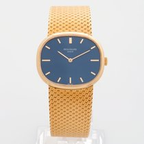 Patek Philippe Ellipse ref 354518k yellow gold 1971 with extract