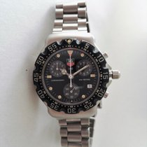 TAG Heuer Formula 1 Chronograph 1/10th 200M Black Dial