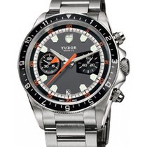 Tudor Heritage Chronograph 70330N-95740 Grey Index Stainless...