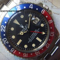 Rolex 1977 BEAUTIFUL CREAM PATINA FADED INSERT ROLEX GMT 1675
