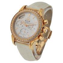 Omega De Ville Co Axial Chronograph with Diamond Bezel