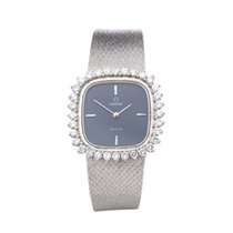 Omega De Ville Diamonds 18k White Gold Ladies