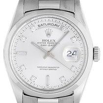 Rolex Platinum President Day-Date Men's Watch 18206
