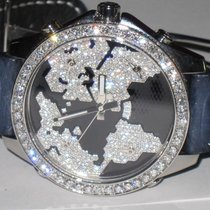 Jacob & Co. JC World Is Yours Five Time Zone 47mm Diamonds