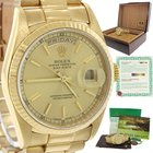 Rolex Day Date President Solid 18kGold 36mm Double Quickset 18238