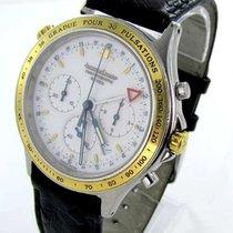 Jaeger-LeCoultre Chronograph Heraion Reveil Herrenuhr Stahl/gold