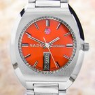 Rado Conway Swiss Stainless Steel Automatic Watch 70's Scx241