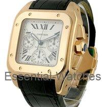 Cartier Santos 100 XL Chronograph in Rose Gold