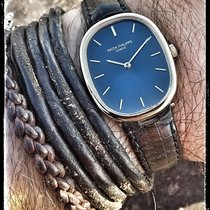 Patek Philippe ELLIPSE  4226 SOLID GOLD, BLUE DIAL+BOXES +GOLD...