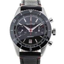 Eberhard & Co. Contograf 42 Chronograph Steel Black Dial
