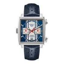 TAG Heuer Monaco 39mm Chrono Date Automatic Mens Watch Ref...