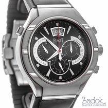Piaget Polo FortyFive Titanium 45mm Men's Watch Rubber Strap...