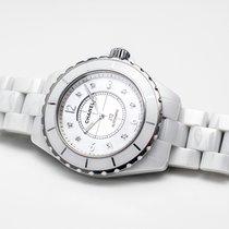 Chanel J12 38mm Index Diamants