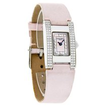 Chaumet Style De Chaumet Diamond Ladies Pink Mop Satin Band...
