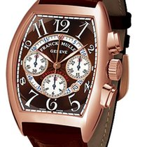 Franck Muller Cintree Curvex Chronographe 18K Rose Gold Men`s...