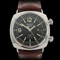 Panerai Radiomir GMT Alarm Stainless Steel Gents PAM00098