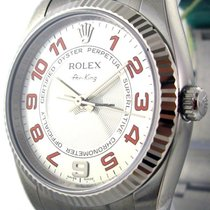 Rolex Air-King Stainless Steel Silver Dial 34mm Ref. 114234