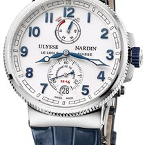 Ulysse Nardin Marine Chronometer Manufacture NEU mit Box+Papier