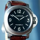 Panerai PAM 176 Luminor Base Titanium Black Sandwich Dial 44mm