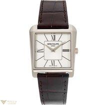 Patek Philippe Gondolo 18K White Gold Men`s Watch