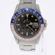 Rolex GMT-Master Pepsi PCG Pointed Crown Guard Gilt Dial Cornino