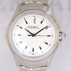 Ebel Wave Lady white Dial Seel 30mm Klassiker NEU B+P