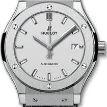 Hublot Classic Fusion 45 TITANIUM OPALIN Mens 511NX2611LR