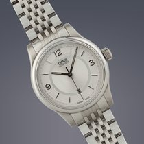 Oris Classic Date stainless steel automatic watch