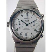 Heuer Cortina Chronograph, Stahl, 70er Jahre