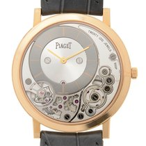 Piaget Altiplano 18k Pink Gold Gray Manual Wind G0A39110