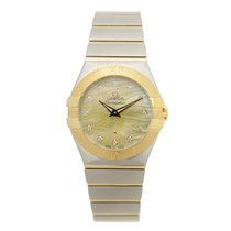 Omega Constellation Gold And Steel Gold Quartz 123.20.27.60.57...