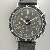 Heuer Pilot Chronograph Vintage Valjoux 72