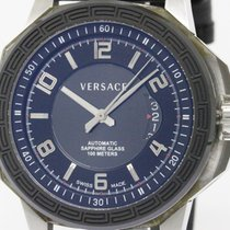 Versace Never Used Versace Diver City Steel Automatic Mens...