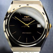 Technos Borazon Swiss Made Tungsten Quartz Rare 1970s Dress...