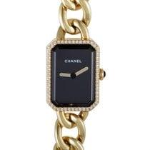 Chanel Première Womens Yellow Gold and Diamond Quartz Watch H3258