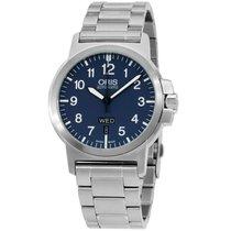 Oris Aviation Blue Dial Stainless Steel Men's Watch...