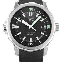 IWC IW329001 Schaffhausen Aquatimer Black Dial Black Rubber...