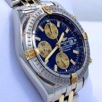 Breitling Chronomat Evolution B13356 18k Yellow Gold /ss...