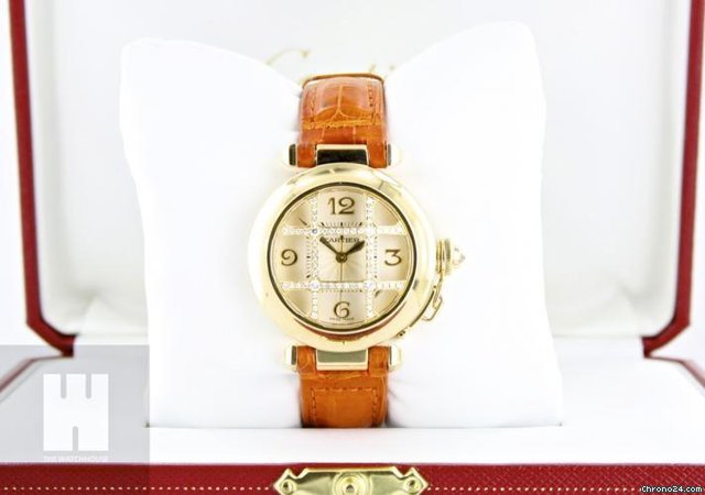 Cartier Pasha Grille 32 MM