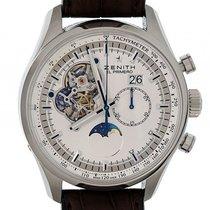 Zenith El Primero Chronomaster Grande Date Chronograph Stahl...